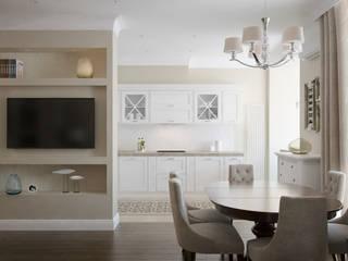 В стиле американской классики Кухня в классическом стиле от JoinForces studio Классический