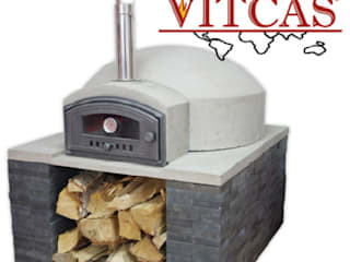 Dome shape pizza oven: classic Garden by Vitcas