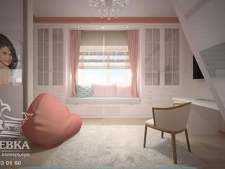 Дизайн интерьера апартаментов в таунхаусе Детская комнатa в классическом стиле от мастерская интерьера РУБЛЕВКА / workshop interior RUBLEVKA Классический