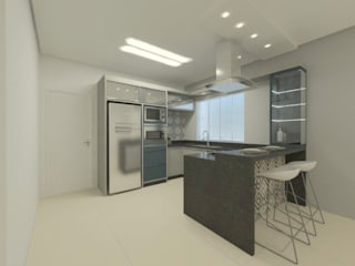Modern Kitchen by Karoline Gesser Leal Interiores Modern