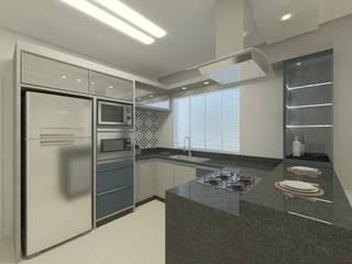 Cocinas de estilo moderno de Karoline Gesser Leal Interiores Moderno