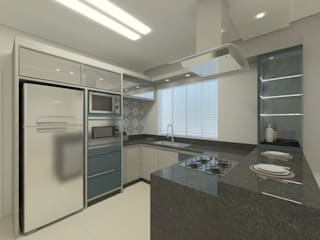 Moderne keukens van Karoline Gesser Leal Interiores Modern