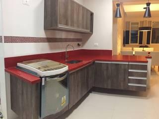 Fabricação e instalação em marmore e granito Cozinhas modernas por Marmoraria Pedras Apache Moderno