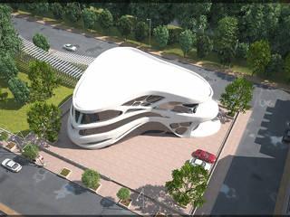 Rumah oleh AKÇAM MİMARLIK LTD ŞTİ, Modern