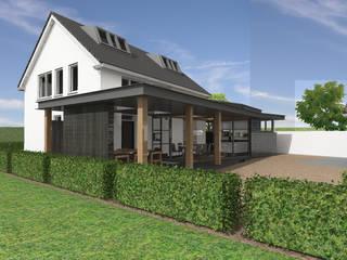 Vergunningsvrije aanbouw te Heukelum:  Huizen door Loosbroek architecten bv