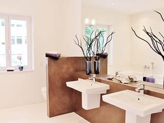 Neue Musterwohnung in Bremen-Schwachhausen Nicole Schütz Home Staging Moderne Badezimmer