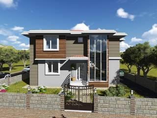 Casas modernas: Ideas, imágenes y decoración de alfa mimarlık Moderno