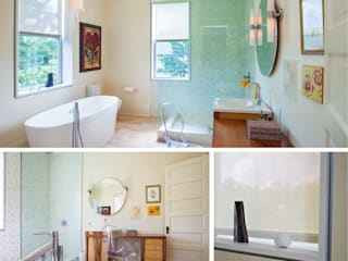 City Park Residence, New Orleans Modern bathroom by studioWTA Modern