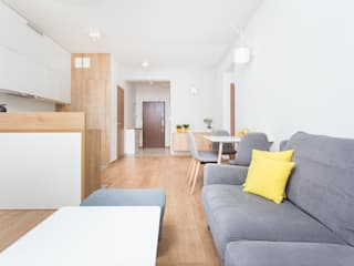 Living room by Och_Ach_Concept, Modern
