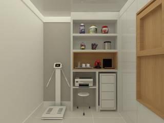 Oficinas de estilo moderno de HM2 arquitetura criativa Moderno