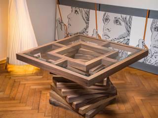Stolik kawowy Twister: styl , w kategorii  zaprojektowany przez Art Loft