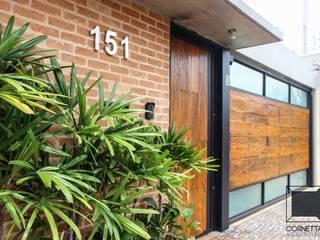 CASA TF Casas modernas por Cornetta Arquitetura Moderno