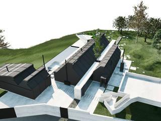Vista superior: Casas modernas por Mário Lima - arquitecto