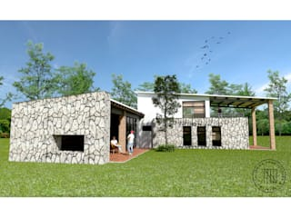 Cabaña de descanso. Casas modernas de Taro Arquitectos Moderno