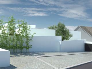 Casa Fonte Fria Casas minimalistas por OFICINA - COLECTIVO DE IDEIAS, LDA Minimalista