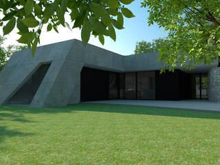 Minimalist house by OFICINA - COLECTIVO DE IDEIAS, LDA Minimalist