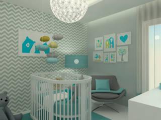 Apartamento Leiria Quartos de criança modernos por OFICINA - COLECTIVO DE IDEIAS, LDA Moderno