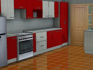 Diseño y construcción de mobiliario cocina de ARQUITECTURA E INGENIERIA PUNTAL LIMITADA Ecléctico