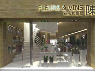 Fleur Chen - Paris Lojas e Espaços comerciais minimalistas por OFICINA - COLECTIVO DE IDEIAS, LDA Minimalista