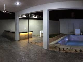 Terraza: Albercas de estilo  por Atelier U + M