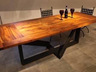 Stół industrialny Delta: styl , w kategorii  zaprojektowany przez Art Loft