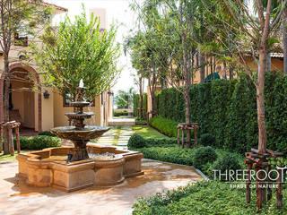 สวนบ้านคุณไพบูลย์ โดย Threeroots Group Co.,Ltd.