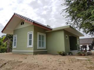 บ้านชั้นเดียว โดย หจก.วรชานนท์ ก่อสร้าง
