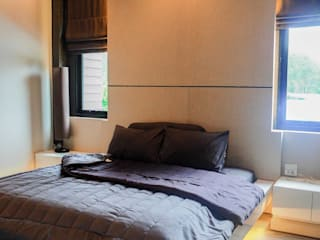 SignatureDesign Eclectic style bedroom Wood Brown