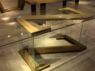 Elegancki stół w kształcie Z: styl , w kategorii  zaprojektowany przez Art Loft