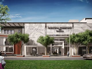 Commercial Building Namibia by Visualize 3D Modern