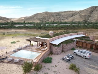 Namibia Loge Upgrade:  Hotels by Visualize 3D