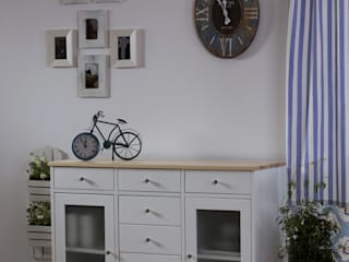 Pokój dzienny w stylu skandynawskim - meble Siena by Woodica od Woodica Skandynawski