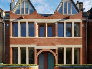 London Brownstones: modern Houses by Knox Bhavan Architects