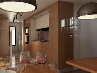 Cuisine moderne par Cabas/Garzon Arquitectos Moderne