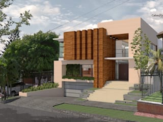 Maisons modernes par Cabas/Garzon Arquitectos Moderne
