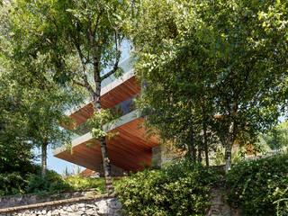 Villa Carber: Case in stile  di Buratti Architetti