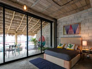 Tropische Schlafzimmer von MORADA CUATRO Tropisch