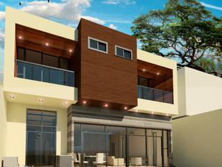 REMODELACION CASA D P - 08-11-2016 Casas modernas de Cabas/Garzon Arquitectos Moderno
