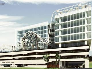 TECNOGLASS de Cabas/Garzon Arquitectos Moderno