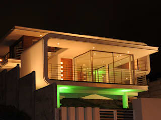 Casa Bore: Casas de estilo moderno por Castro / Guarda Arquitectos