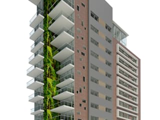 TORRE BOJANINI 25-07-2014 de Cabas/Garzon Arquitectos Moderno