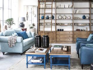 Conexo. ArbeitszimmerStühle Textil Blau