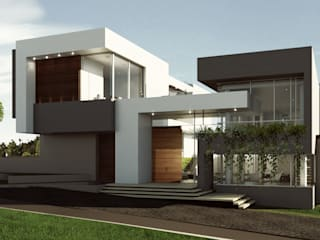 VIVIENDA CAUJARAL - M G de Cabas/Garzon Arquitectos Moderno