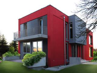 Neubau Einfamilienhaus Moderne Häuser von Architektur & Design, Köstler & Placek Modern