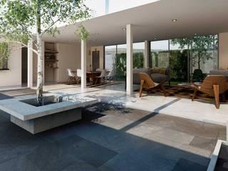 Balcones y terrazas de estilo moderno de Grupo La México Moderno