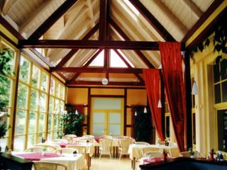 Anbau an Hotel:  Gastronomie von Architektur & Design, Köstler & Placek