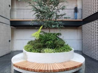 Prosperidad 35: Pasillos y recibidores de estilo  por Wolff Arquitectura