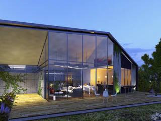 Casa Santa Elena Casas modernas de O11ceStudio Moderno