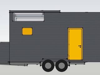 Camera da letto in stile  di BOXCODE