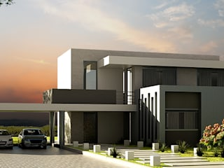 Casa Prado Largo Casas modernas de O11ceStudio Moderno